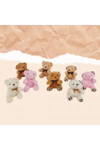 "3"" Assorted Plush Bear"