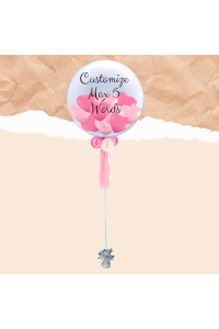 Customized Bubble Balloon (Valentine's Special)