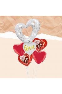 Big Love Balloon Bouquet