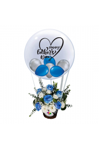 Father's Day Floral Hot Air Balloon