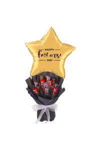 Standard Father's Day Chocolate Bouquet