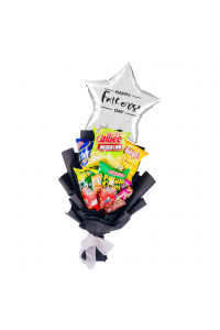 Father's Day Medium Snack Bouquet