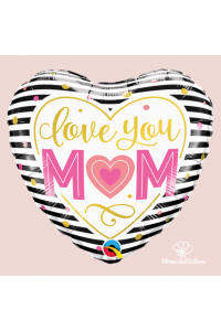 "18"" Love You Mom Heart"