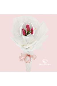 Mum's Silky Tulips (Bouquet)