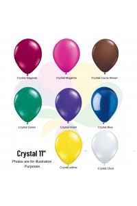 "11"" Jewel Crystal Latex"