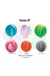 "30"" Marble/Agate Latex"