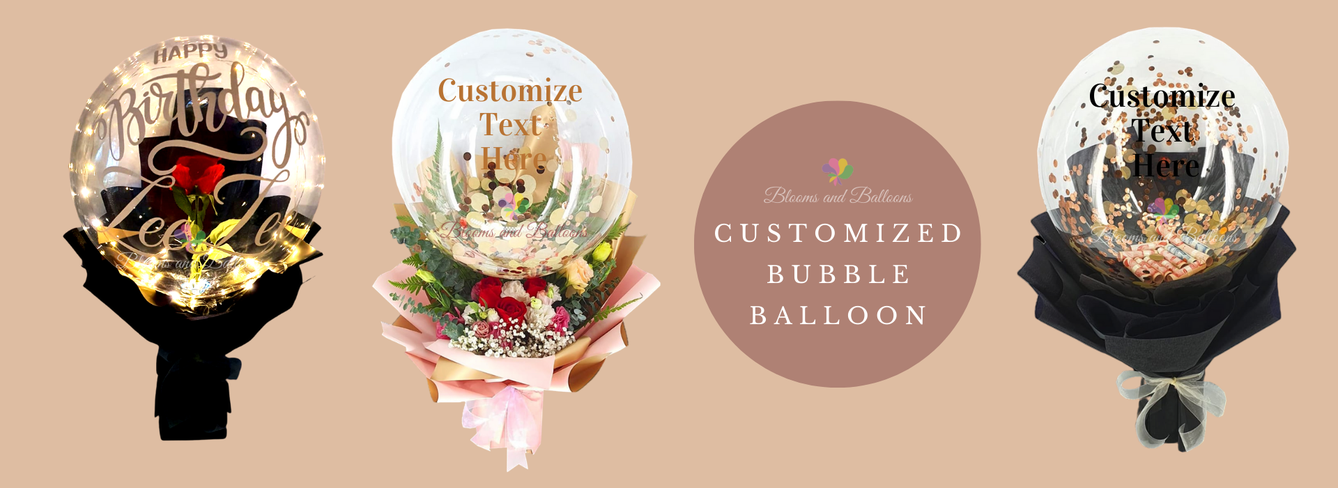 Customised Bubble Balloon