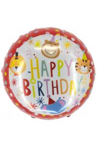 "18"" Birthday Cartoon Animals"
