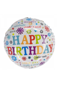 "18"" Birthday Colourful Explosion"
