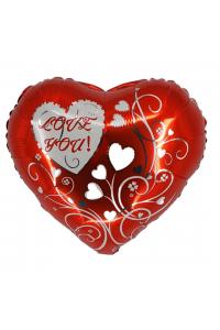 """18"""" Valentine's Red Heart"""