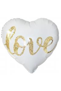 """18"""" Valentine's White Heart"""