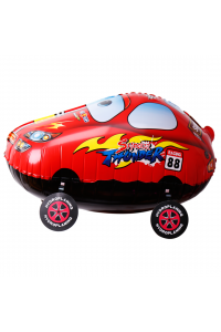 """22"""" Walking Red Car"""