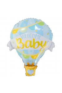 "28"" Baby Boy Hot Air Balloon"