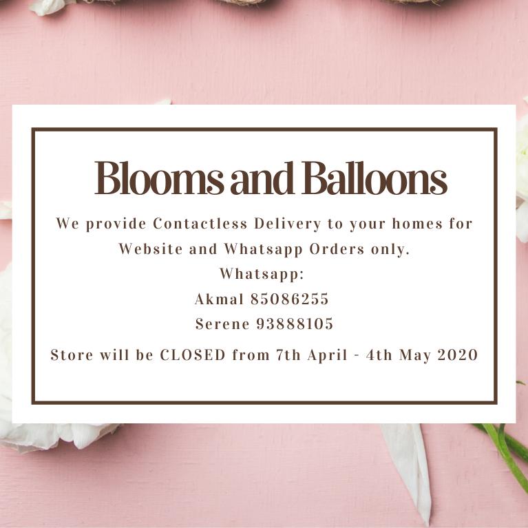 Blooms & Balloons